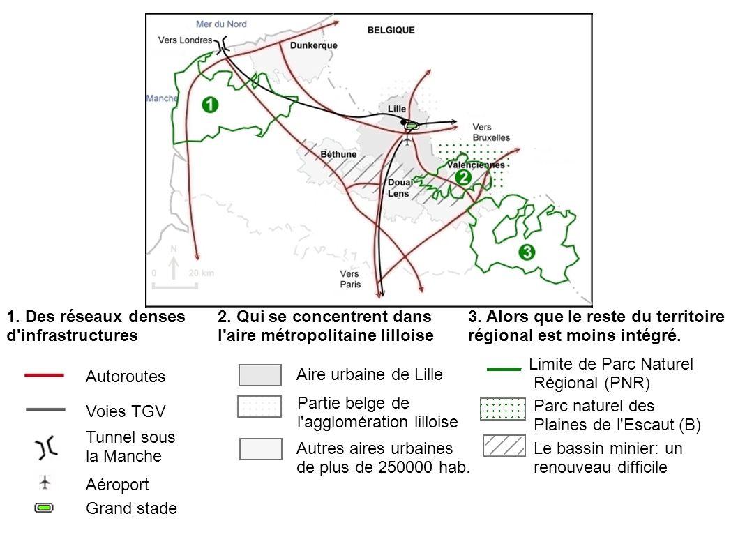1. Des réseaux denses d infrastructures