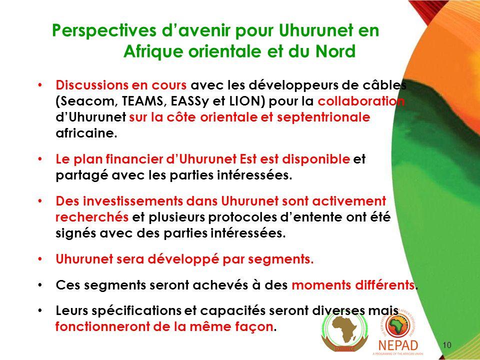 Perspectives d'avenir pour Uhurunet en Afrique orientale et du Nord