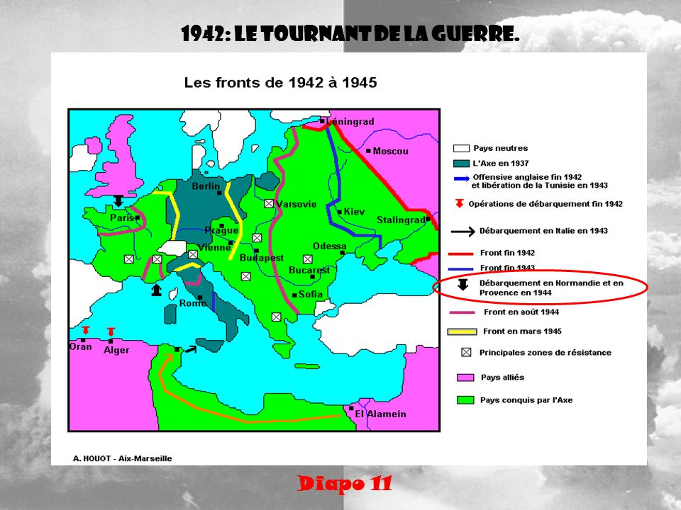 1942: le tournant de la guerre.