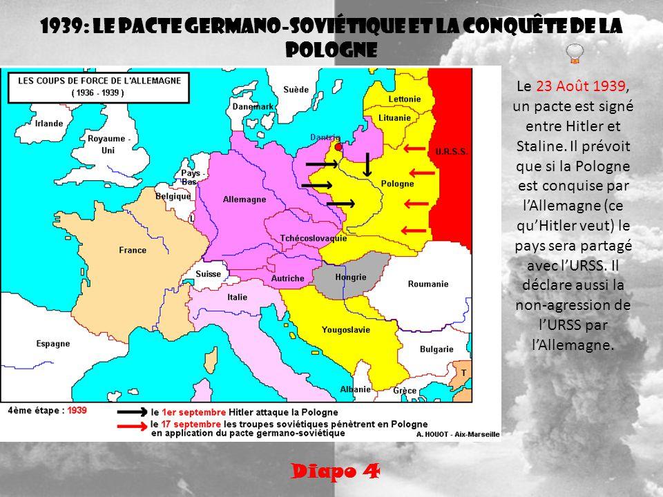 1939: le pacte germano-soviétique et la conquête de la Pologne