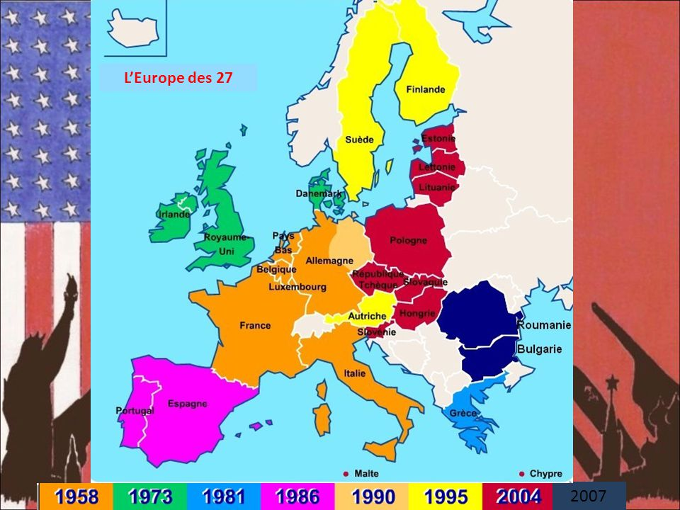 L'Europe des 27 2007