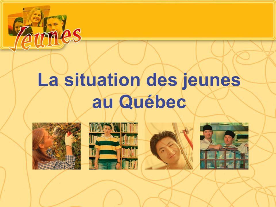 La situation des jeunes au Québec