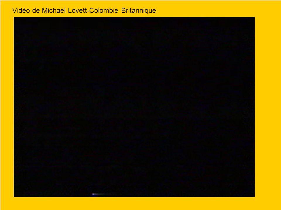 Vidéo de Michael Lovett-Colombie Britannique