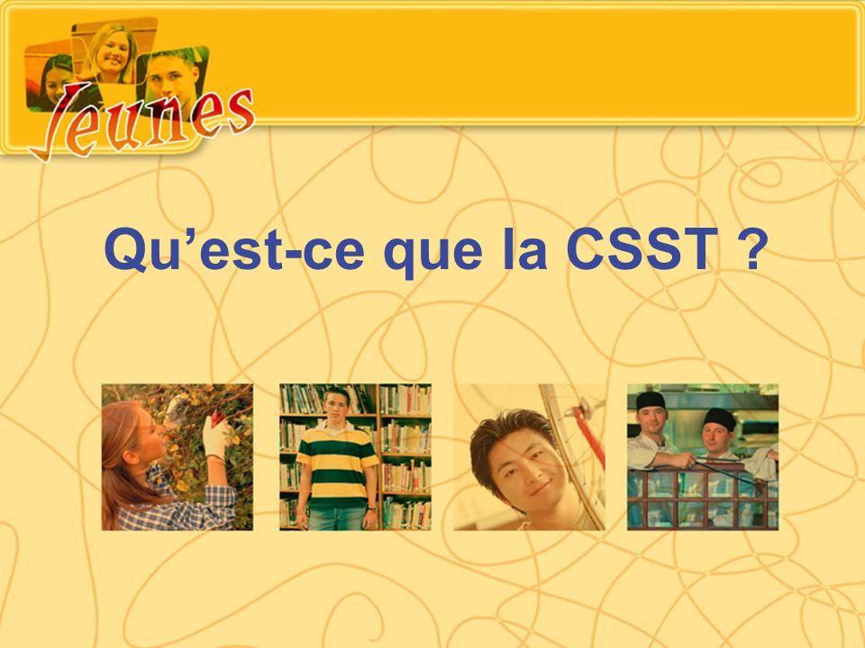 Qu'est-ce que la CSST
