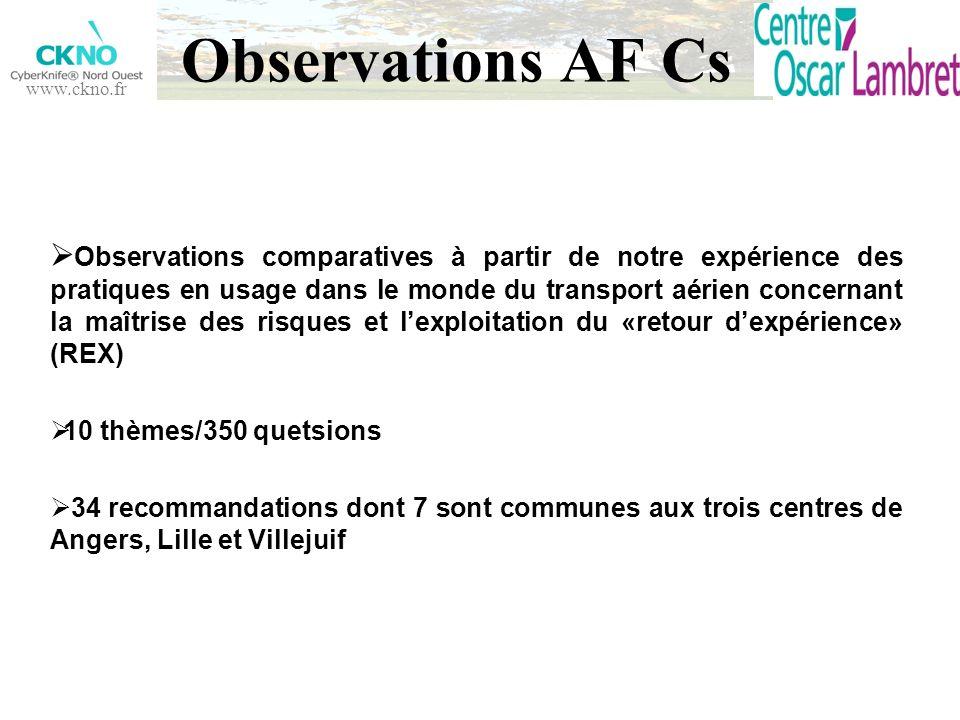 Observations AF Cs