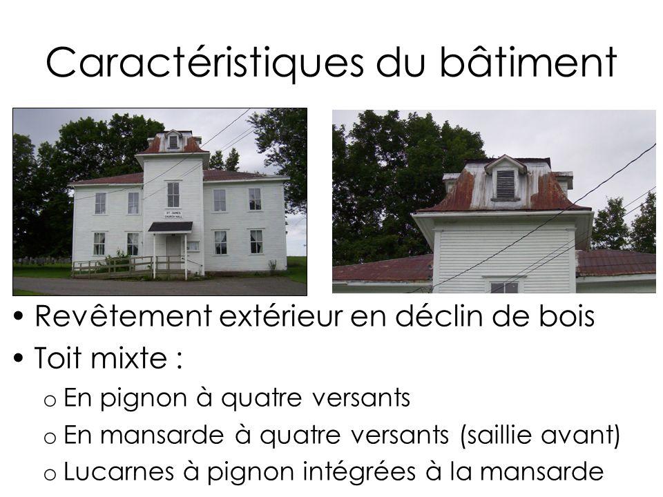 Plan de pr sentation mise en contexte du projet projet de restauration ppt t l charger Toit mansarde bardage bois