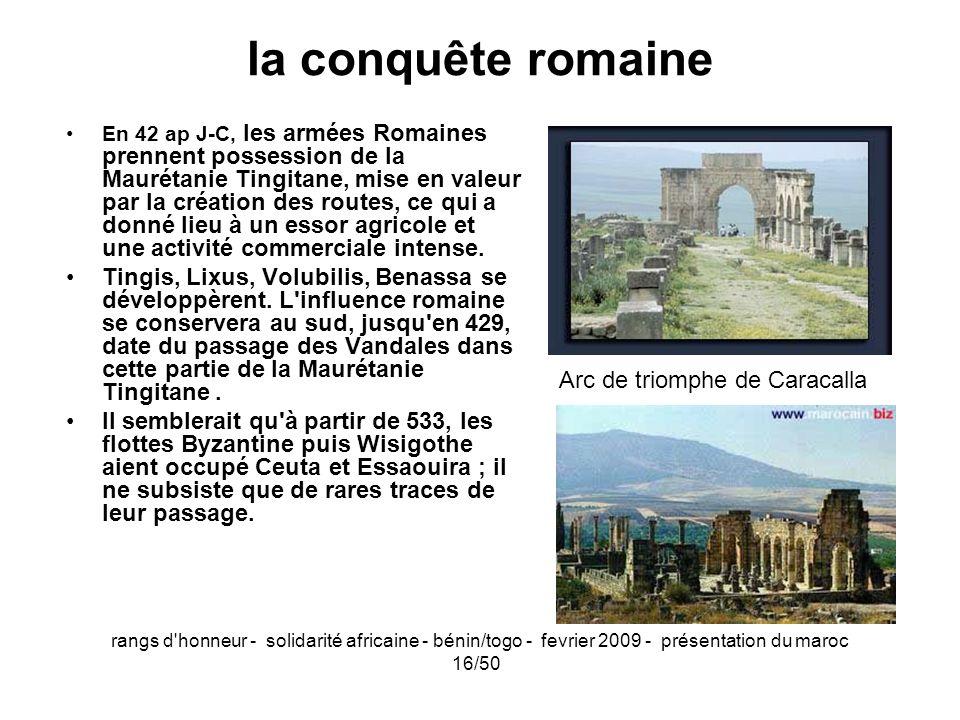 Arc de triomphe de Caracalla