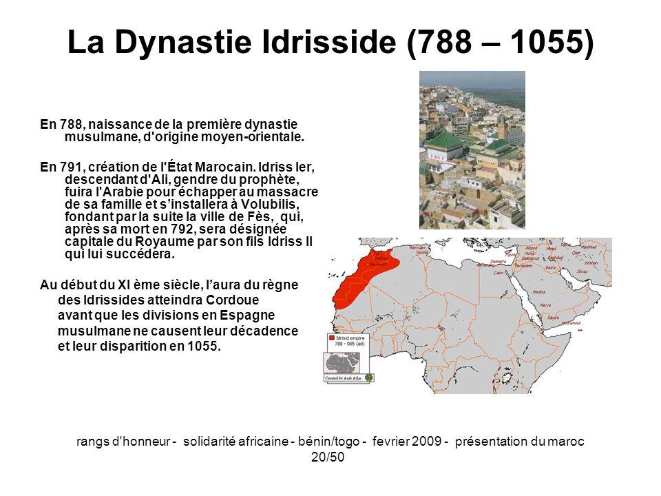 La Dynastie Idrisside (788 – 1055)