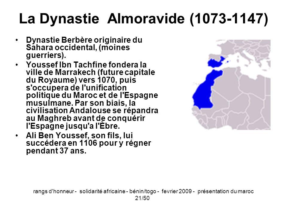 La Dynastie Almoravide (1073-1147)