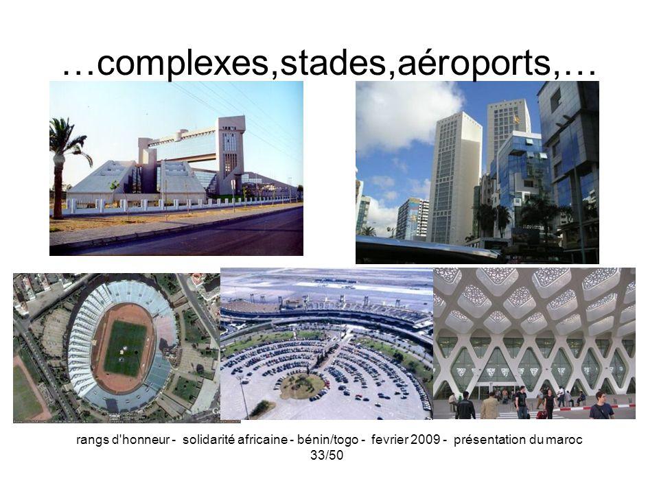 …complexes,stades,aéroports,…