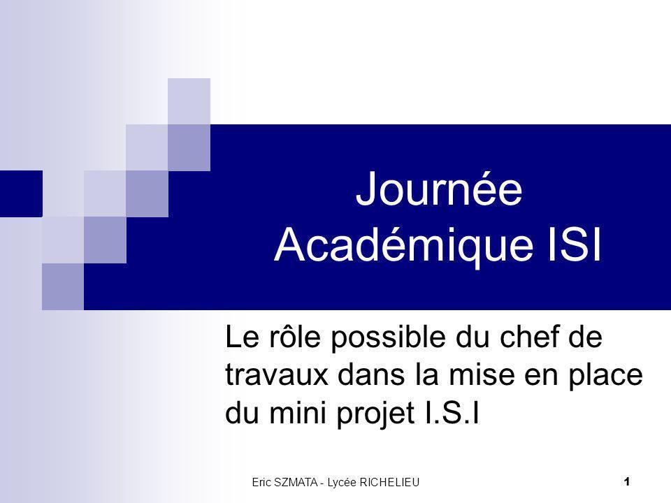 Journée Académique ISI