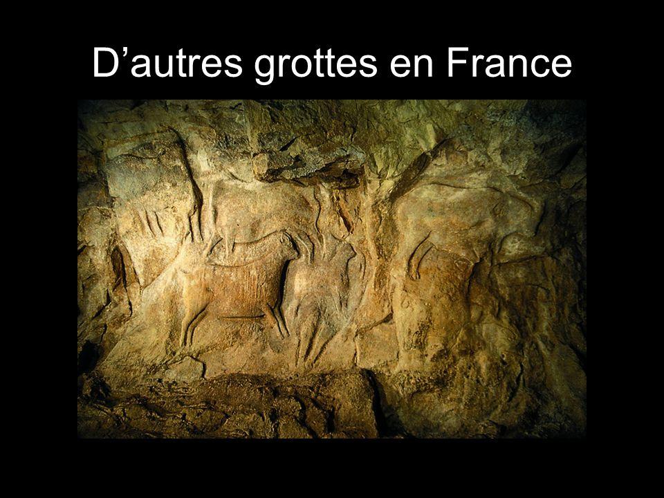 D'autres grottes en France