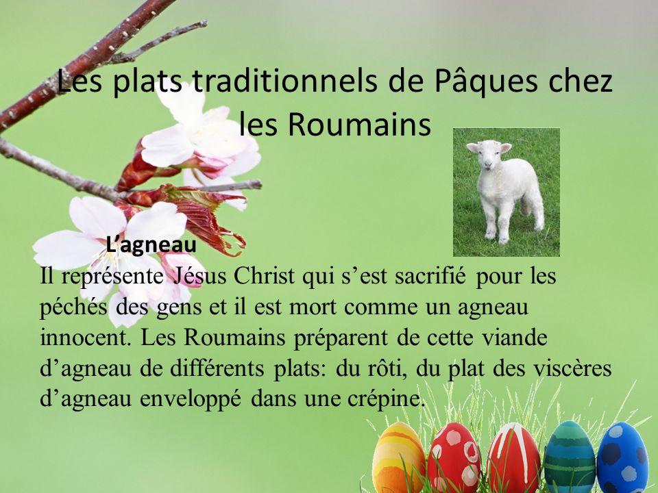 Les plats traditionnels de Pâques chez les Roumains