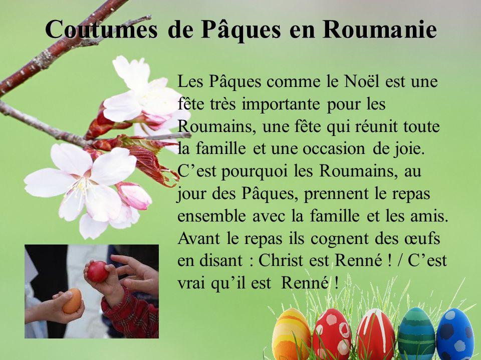 Coutumes de Pâques en Roumanie