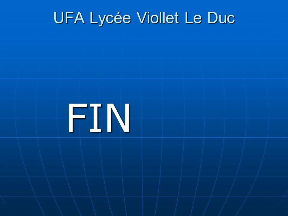 UFA Lycée Viollet Le Duc