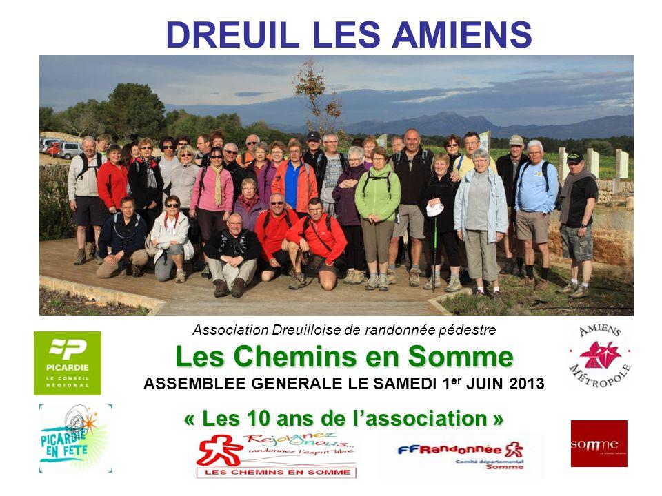 DREUIL LES AMIENS Les Chemins en Somme « Les 10 ans de l'association »