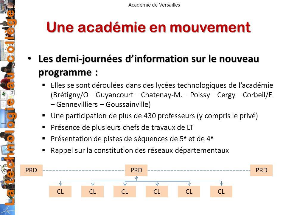 Une académie en mouvement