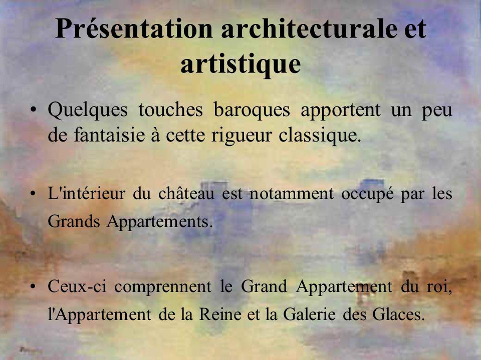 Présentation architecturale et artistique