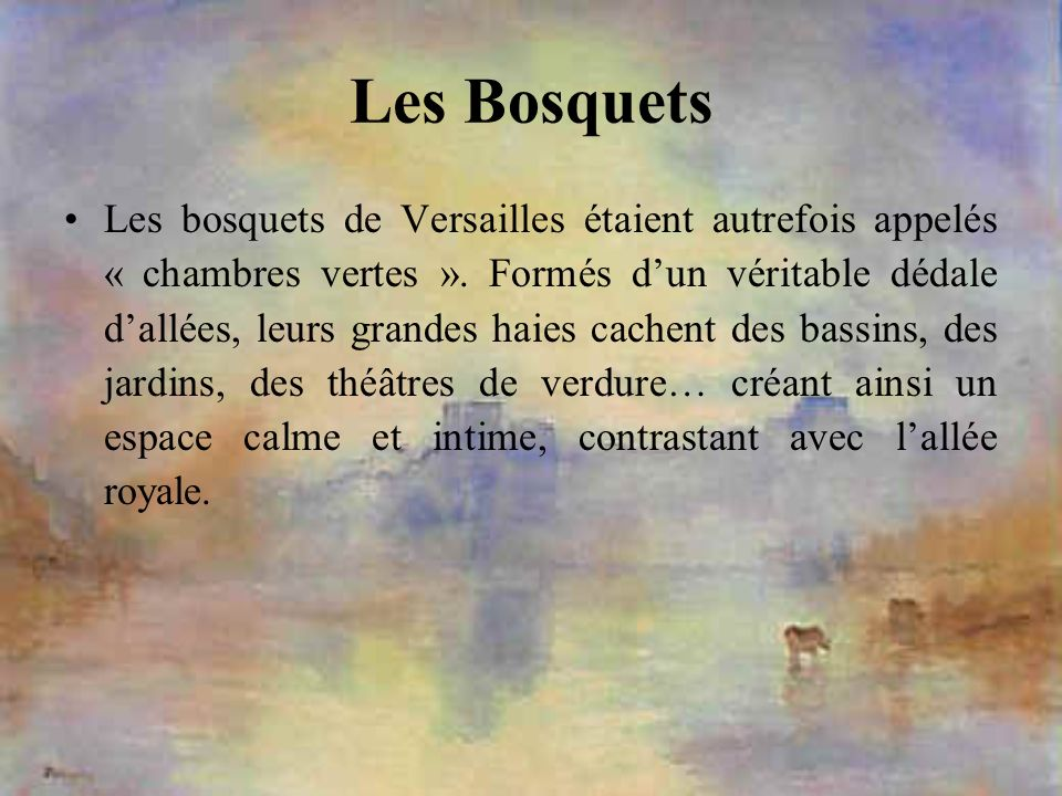 Les Bosquets