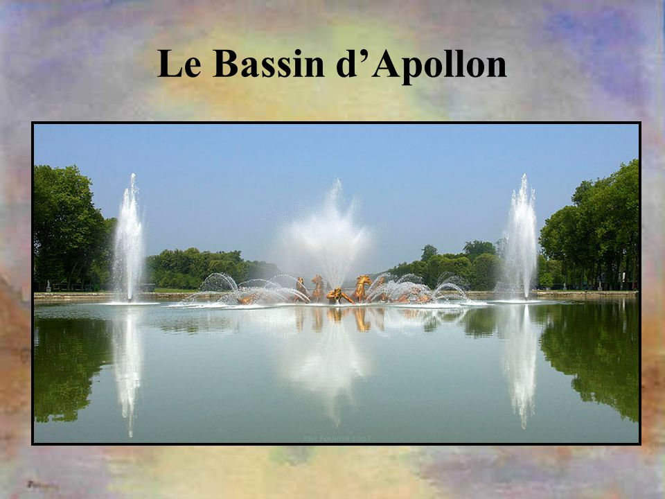 Le Bassin d'Apollon