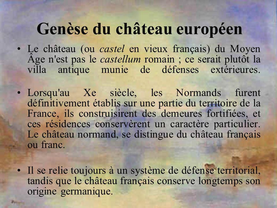 Genèse du château européen
