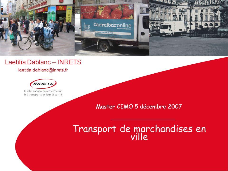 Transport de marchandises en ville