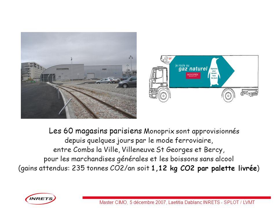 Les 60 magasins parisiens Monoprix sont approvisionnés