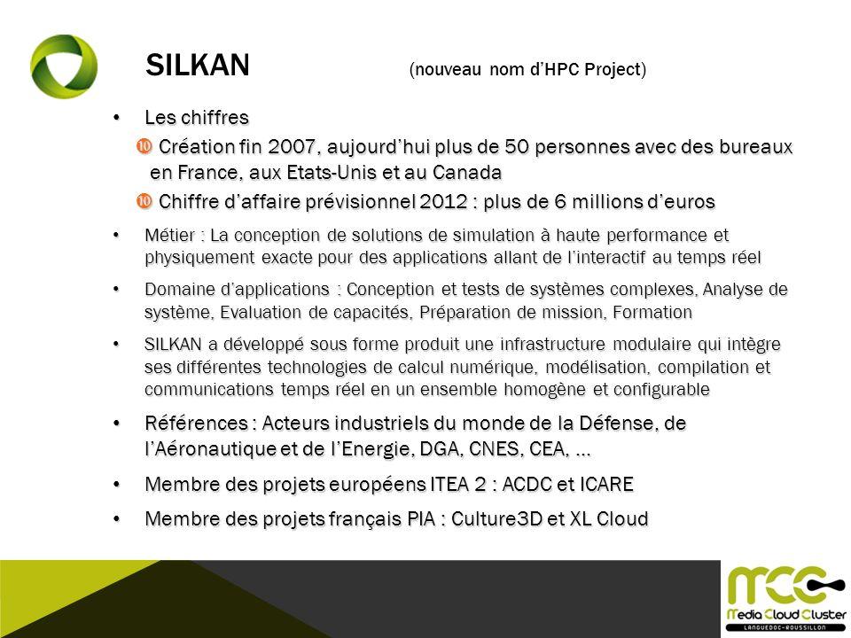 SILKAN (nouveau nom d'HPC Project)