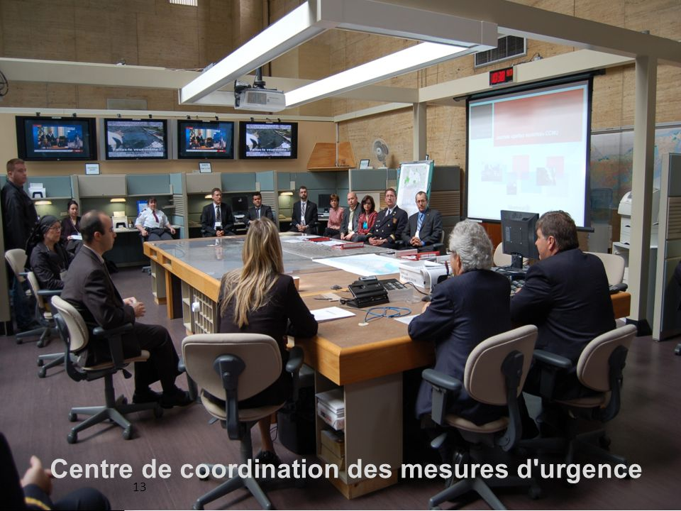 Centre de coordination des mesures d urgence