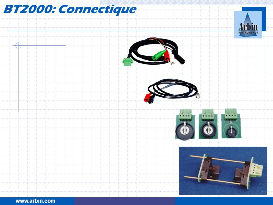 BT2000: Connectique