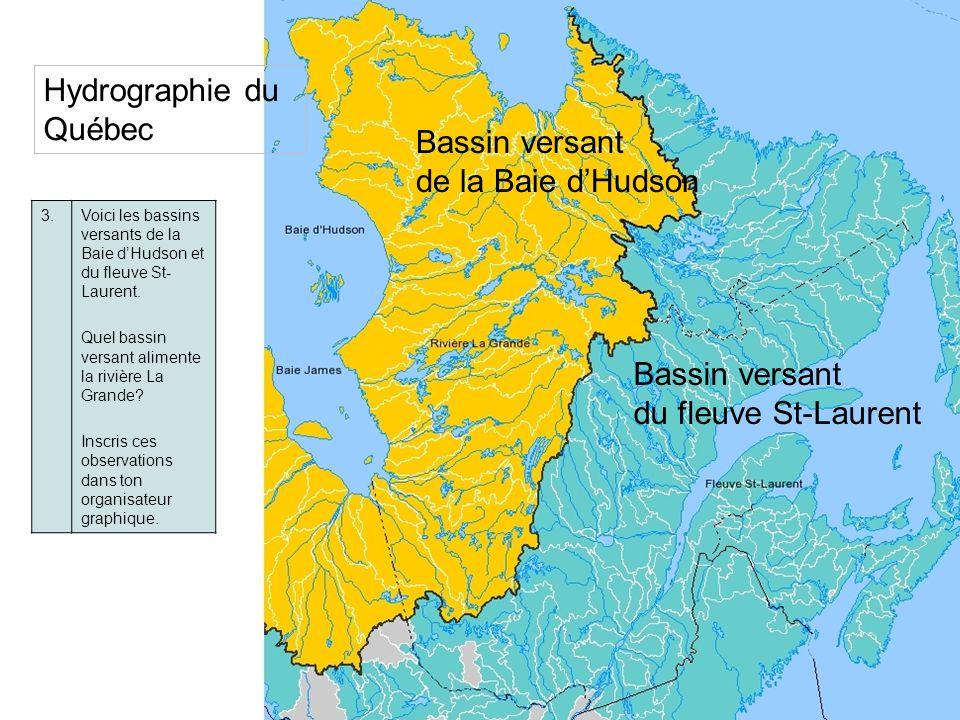 Hydrographie du Québec