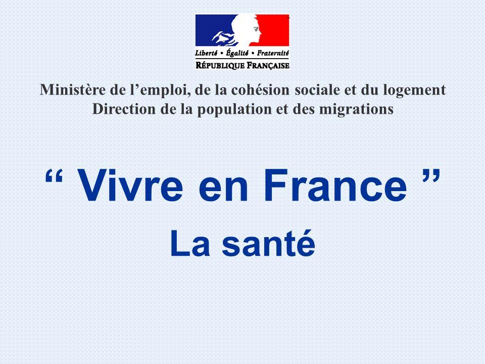 Vivre en France La santé