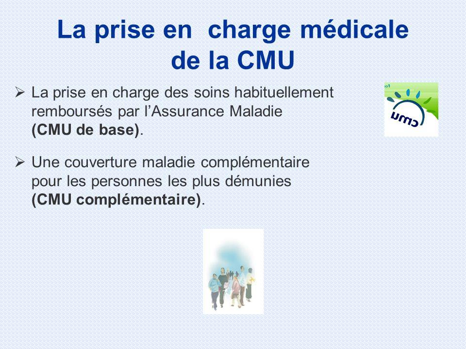 La prise en charge médicale de la CMU