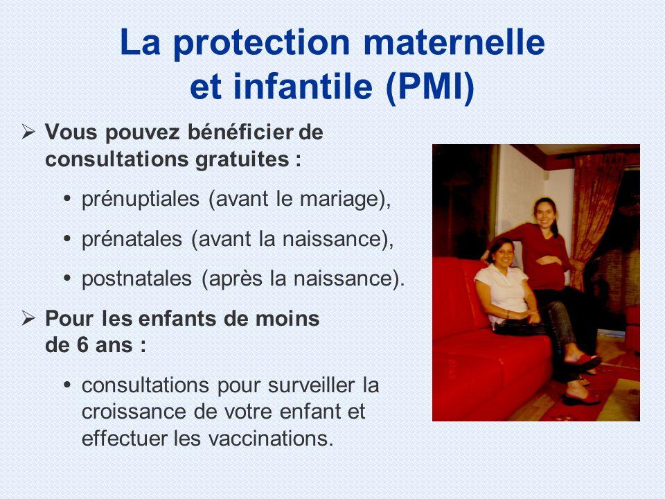 La protection maternelle et infantile (PMI)