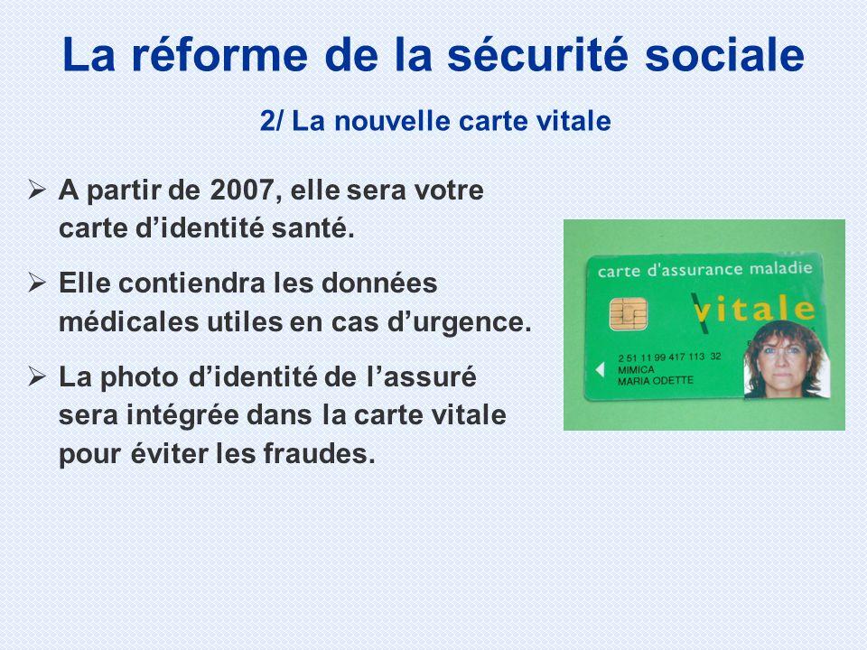 La réforme de la sécurité sociale