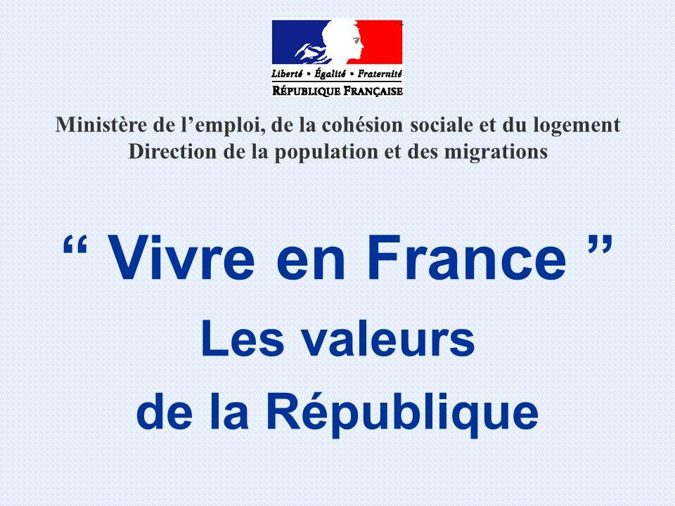 Les valeurs de la République