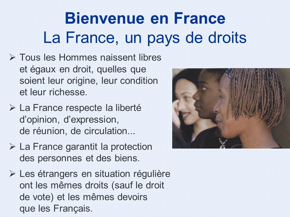 La France, un pays de droits