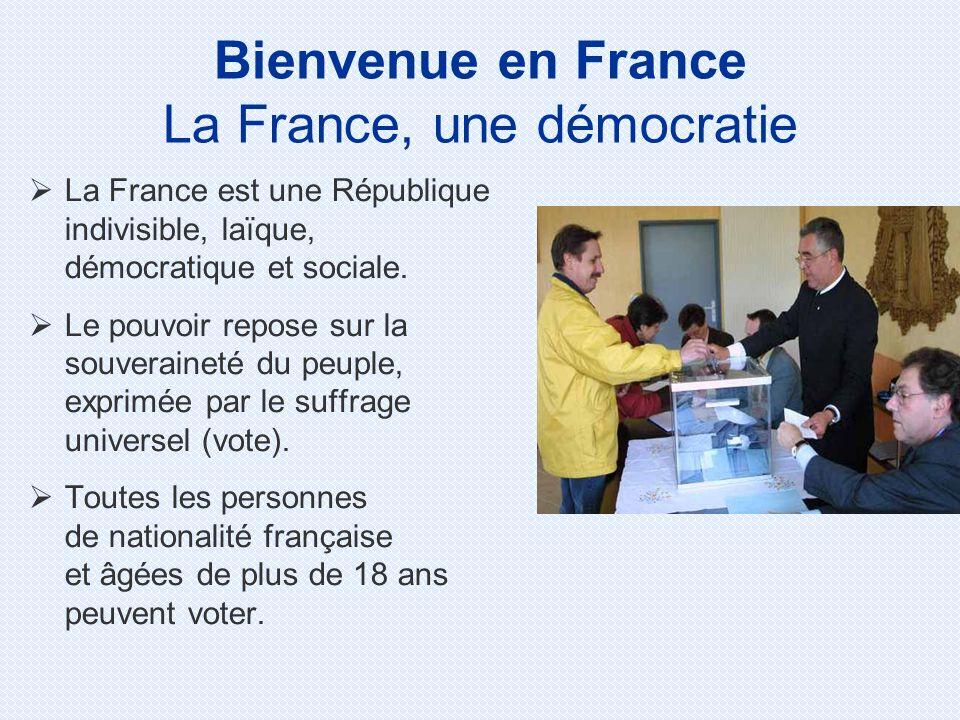 La France, une démocratie