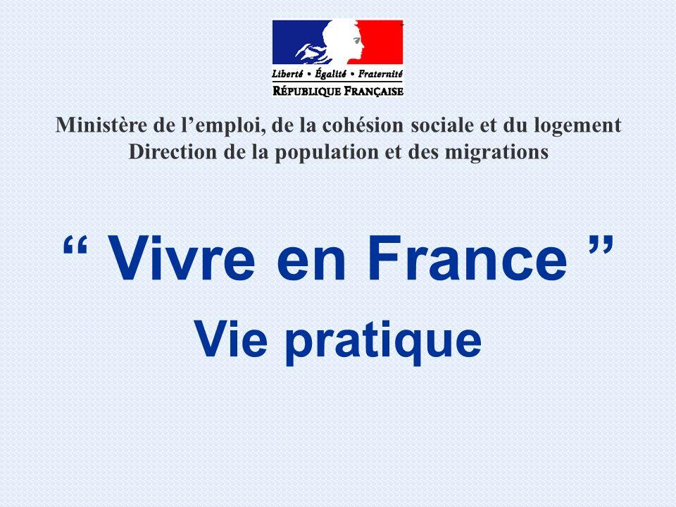 Vivre en France Vie pratique