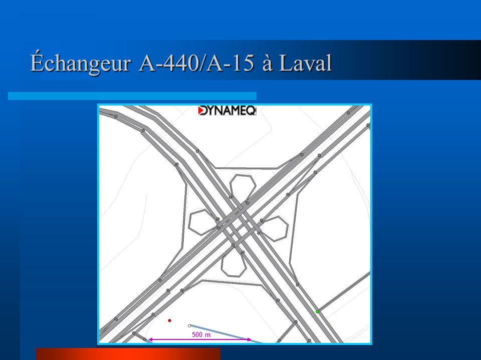 Échangeur A-440/A-15 à Laval