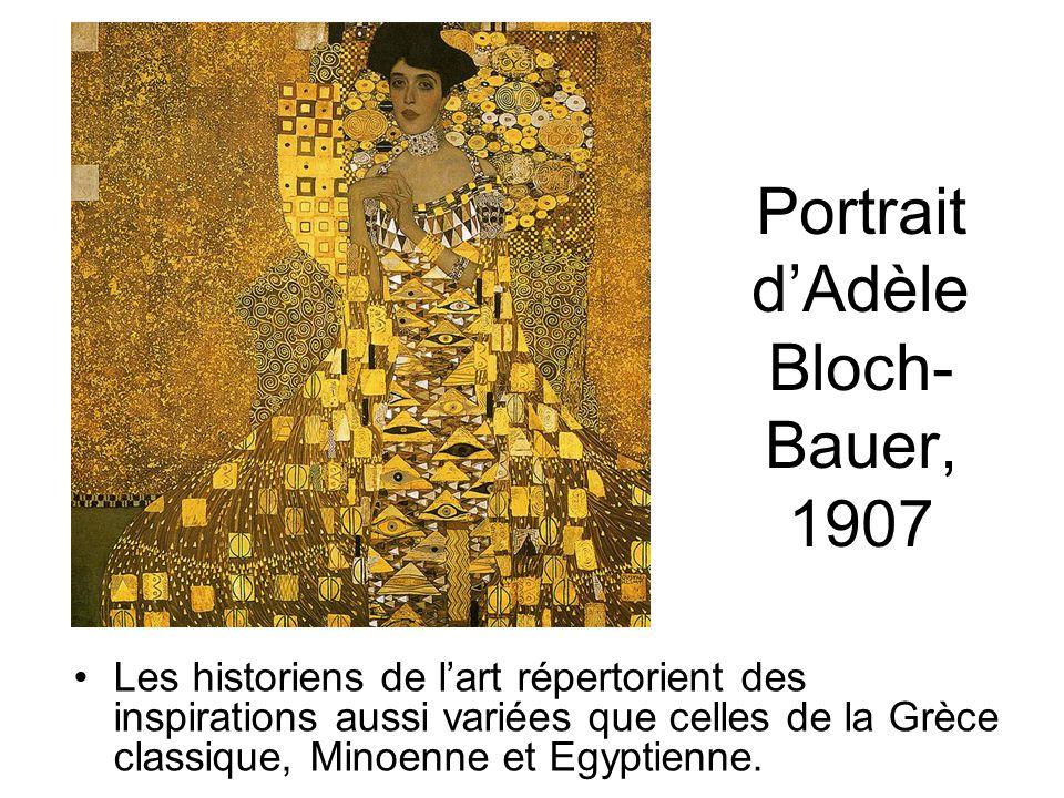 Portrait d'Adèle Bloch-Bauer, 1907