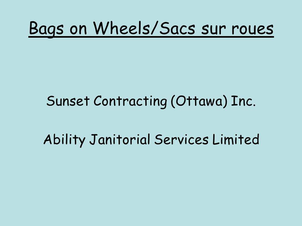 Bags on Wheels/Sacs sur roues