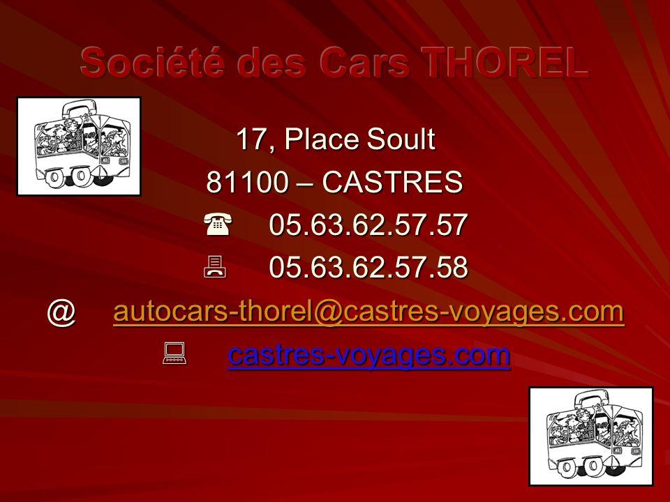 Société des Cars THOREL