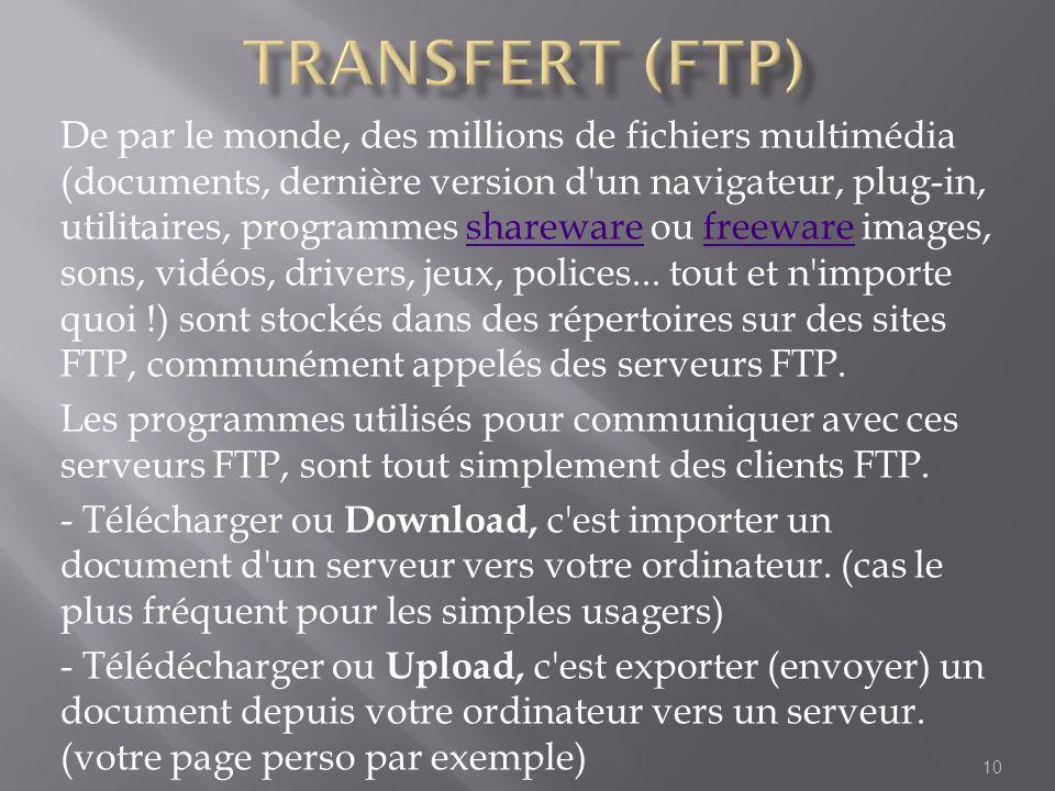 Transfert (ftp)