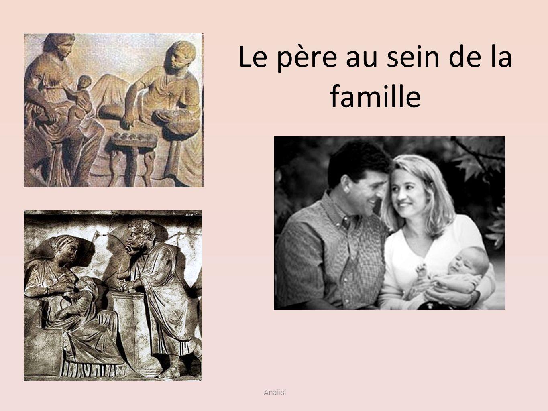Le père au sein de la famille