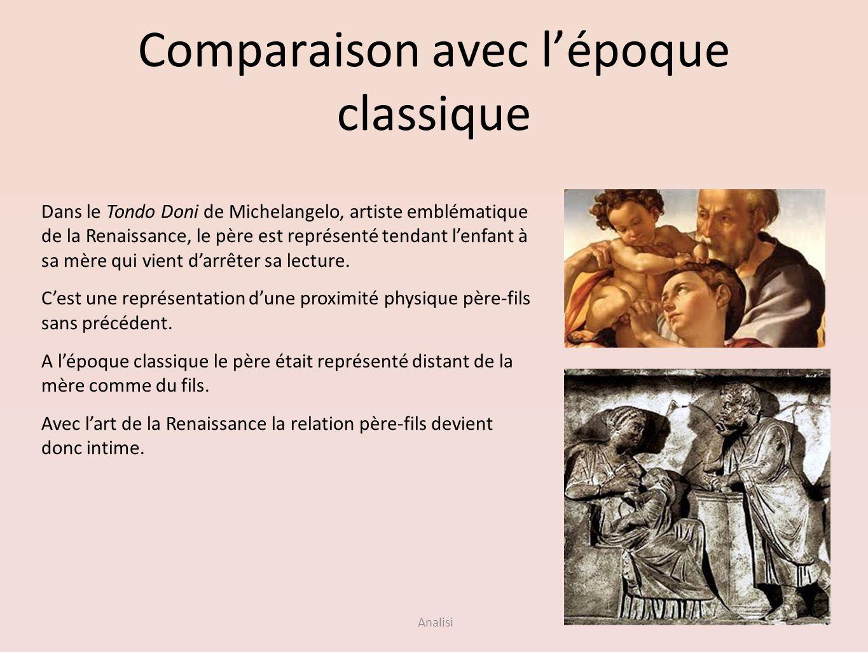 Comparaison avec l'époque classique
