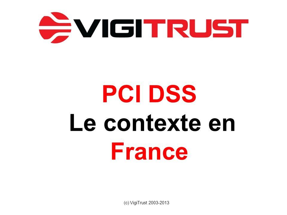 PCI DSS Le contexte en France