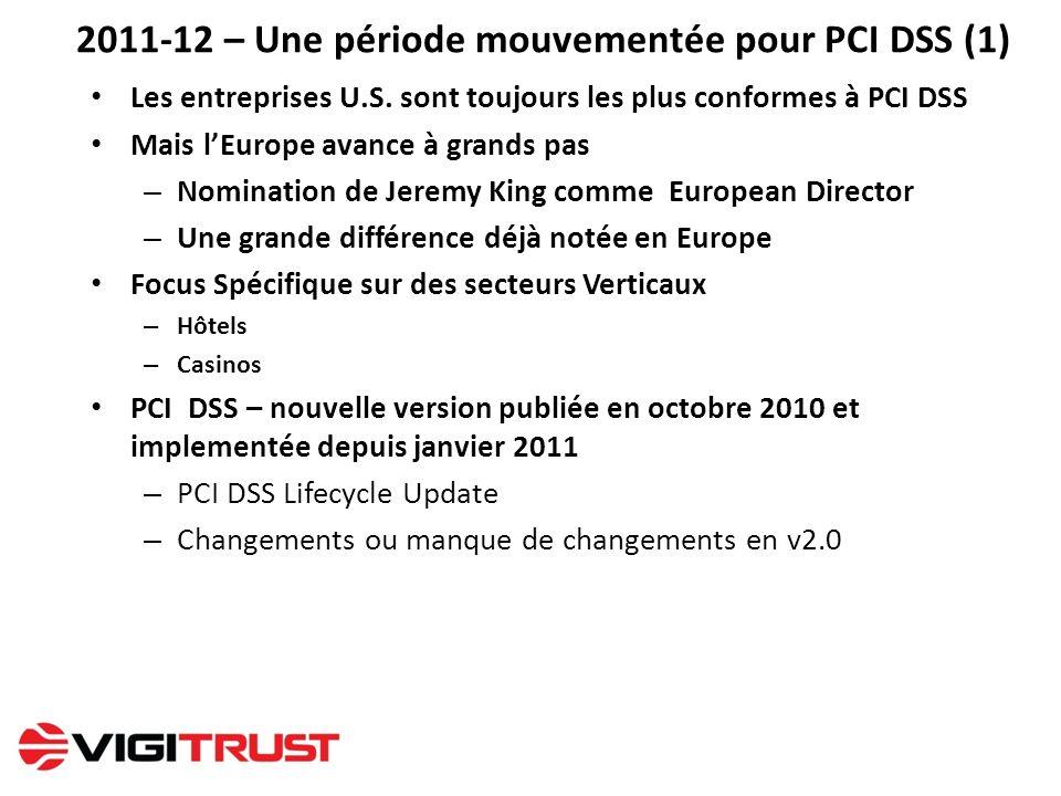 2011-12 – Une période mouvementée pour PCI DSS (1)