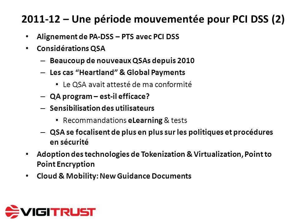 2011-12 – Une période mouvementée pour PCI DSS (2)