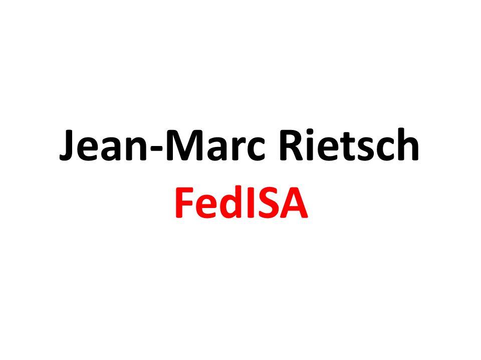 Jean-Marc Rietsch FedISA